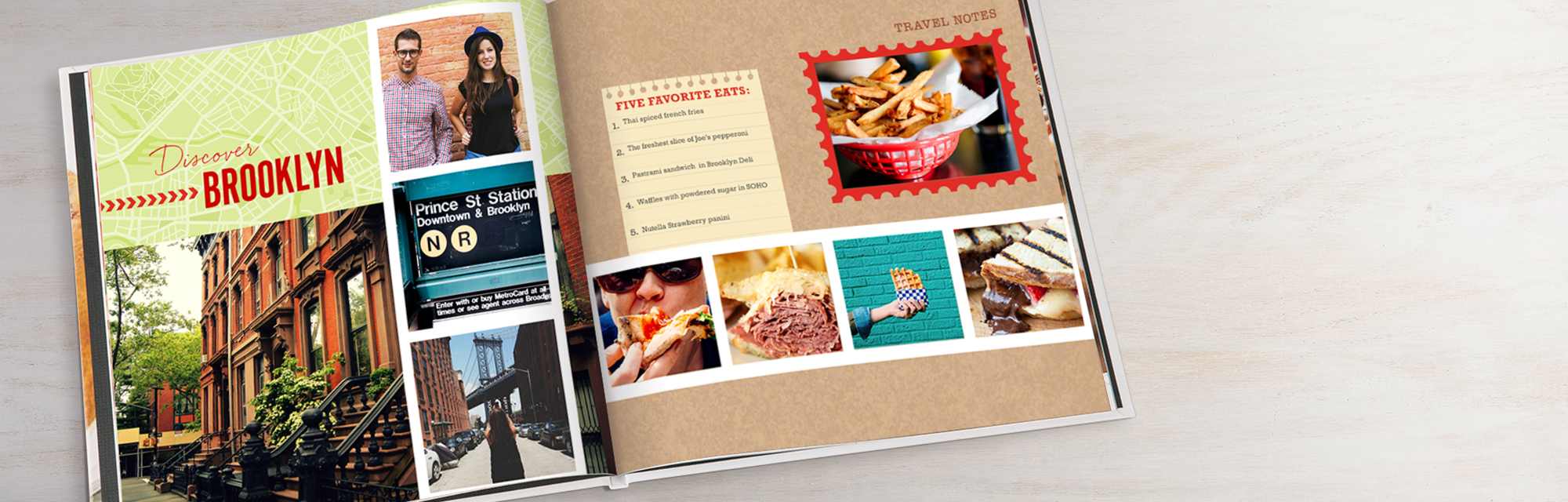 New! Designer layouts : Now featuring dozens of picture-perfect layouts all designed to suit your style.