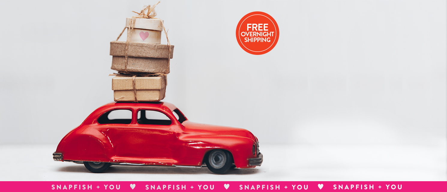 Step on it : True love waits, but time won't. Use LOVE16 for free overnight shipping.