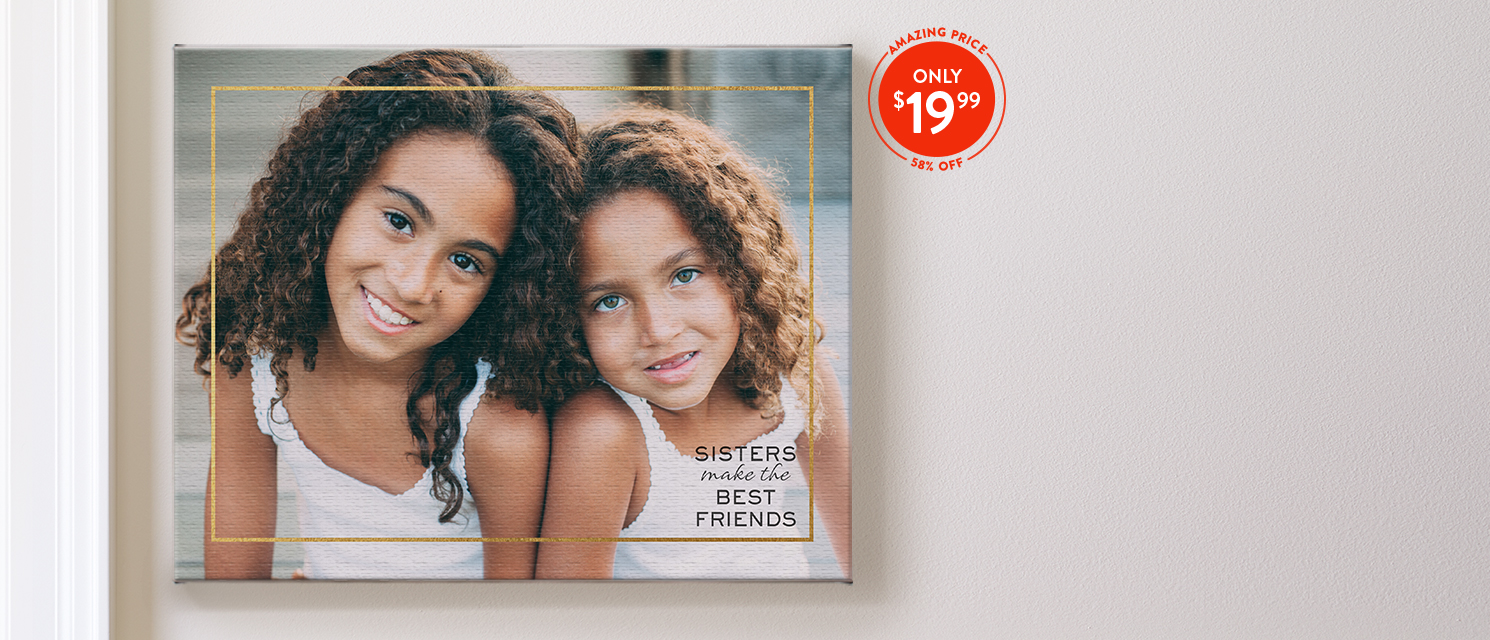 Pretty as a Picture : Use CANVAS1999 to make gorgeous 11x14 canvas prints.